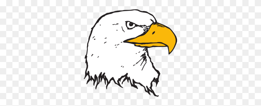 300x282 Bald Eagle Head Clip Art - Free Eagle Clipart