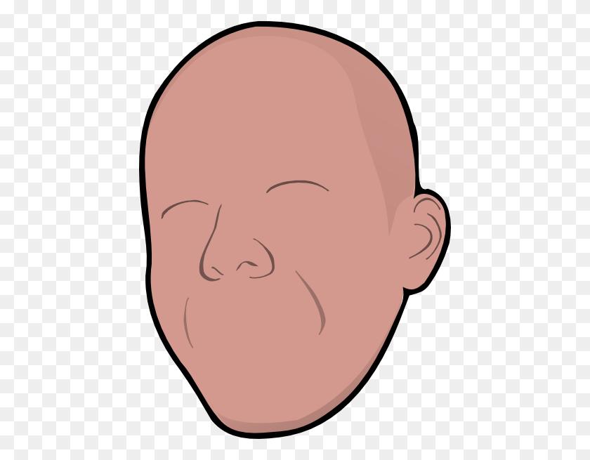 Bald Without Face Clip Art - Bald Clipart