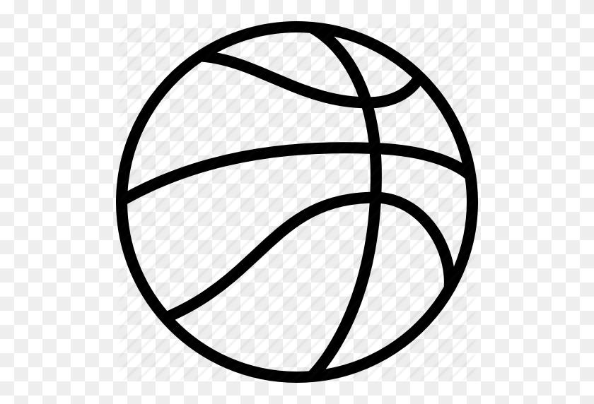 Ball, Basket, Basketball, Hoops, League, Nba, Ncaa Icon - Nba Basketball PNG