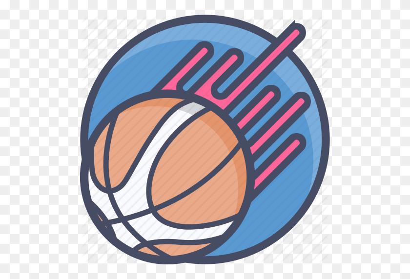 Ball, Basketball, Flaming, Games, Nba, Sports Icon - Flaming Basketball Clipart