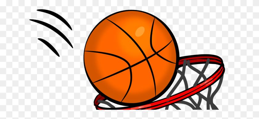Ball Clip Art Png - Basketball And Hoop Clipart