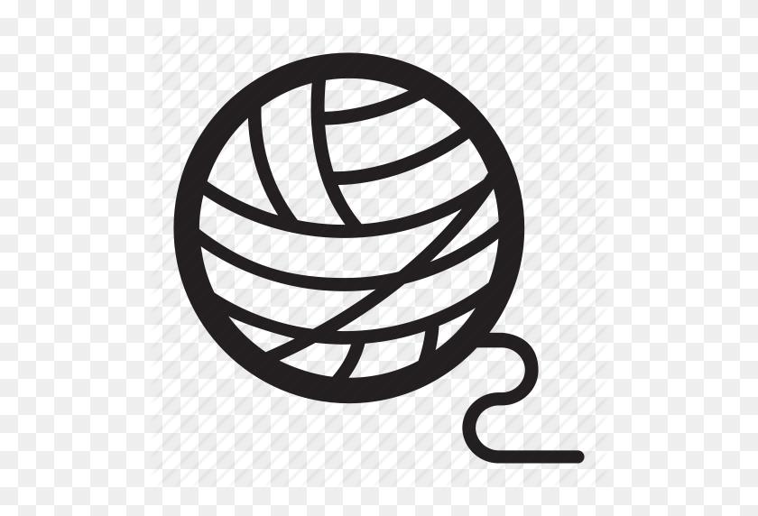 Ball, Crafts, Crochet, Hobbies, Knit, Map, Thread, Unravel, Wool - Yarn Ball PNG