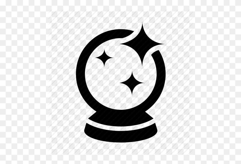Ball, Crystal, Crystal Ball, Fortune, Magic, Psychic Icon - Crystal Ball PNG