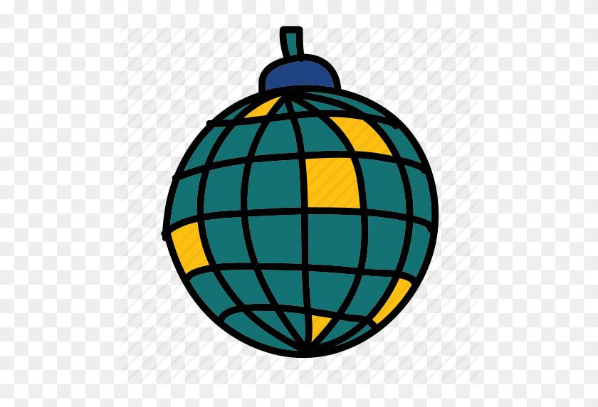 Ball, Disco, Disco Ball, Light, Party Icon - Disco Ball PNG