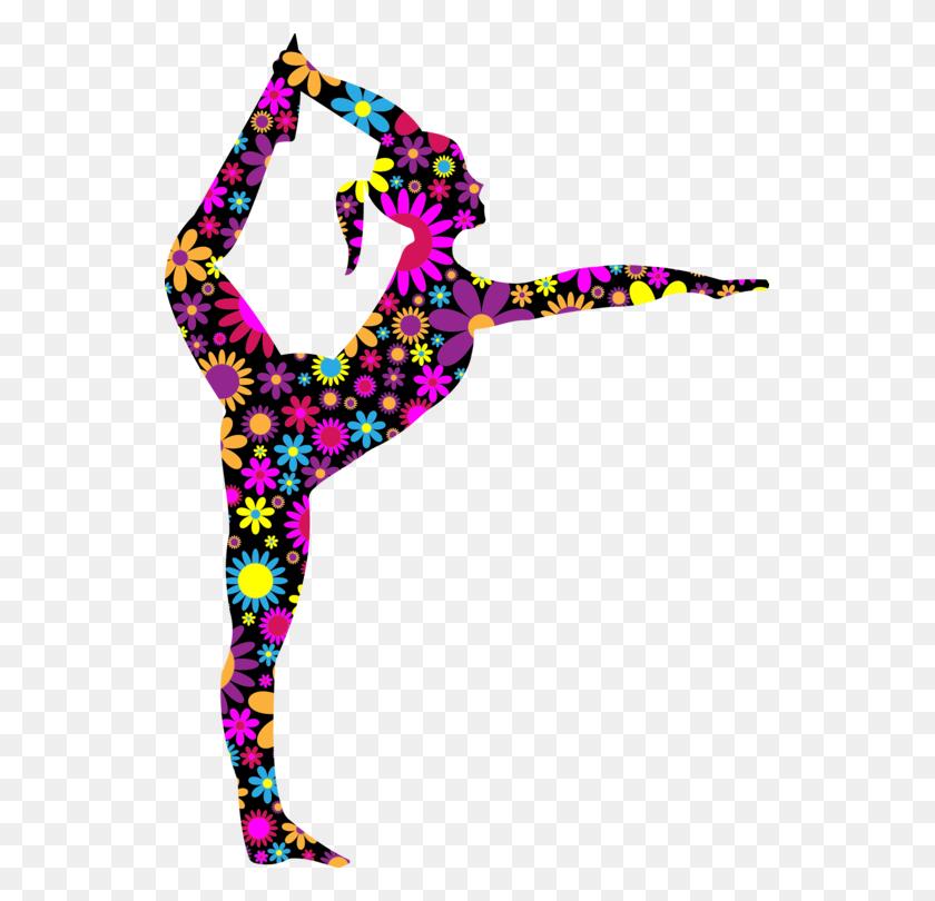 Ballet Dancer Ballet Dancer Silhouette Stretching - Salsa Dance Clipart