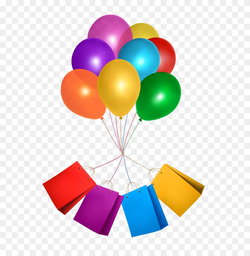 Ballons - 50th Birthday Clip Art
