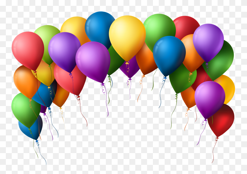 Colorful Balloons Png Clip Art Free Clipart Birthday Balloons Stunning Free Transparent Png Clipart Images Free Download