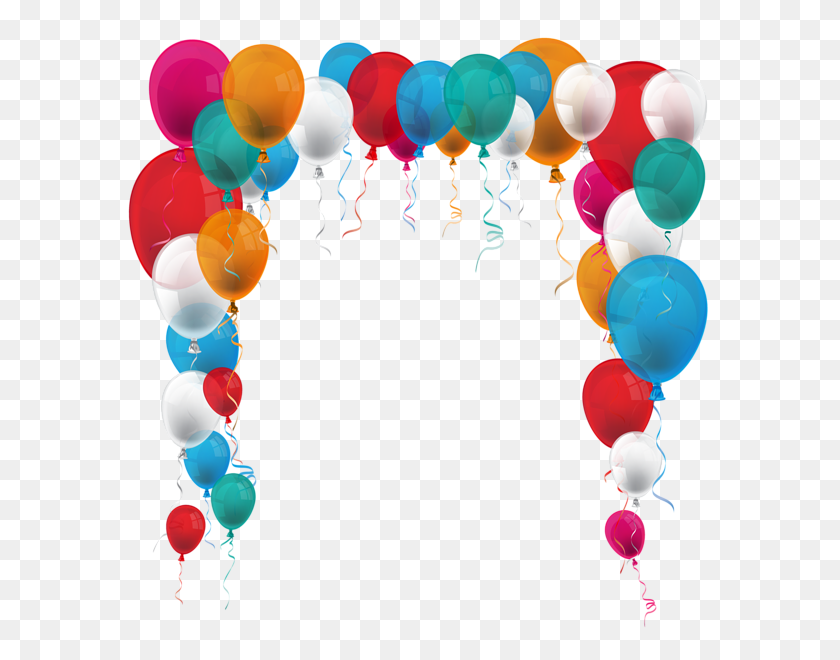 Balloons Balloons, Clip Art - Party Balloons Clipart