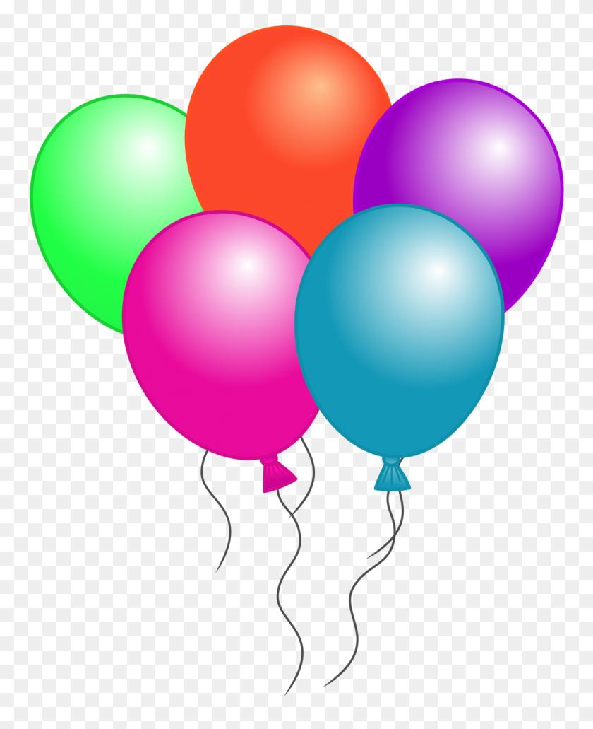 Balloons Clip Art - Birthday Clipart Transparent