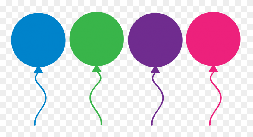Balloons Clip Art Transparent Background Free - Birthday Clipart Transparent