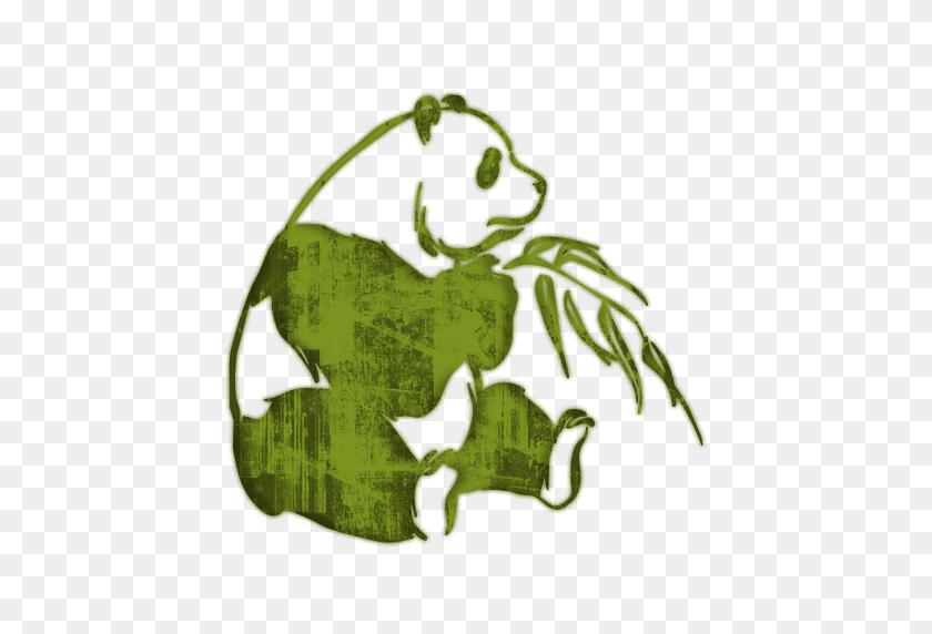 Bamboo Panda Bear Clipart - Panda Bear Clipart