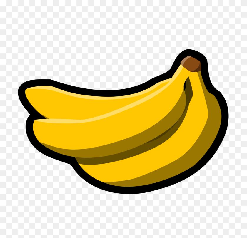 Banana Bread Muffin Banana Pudding Banana Peel - Pudding Clipart