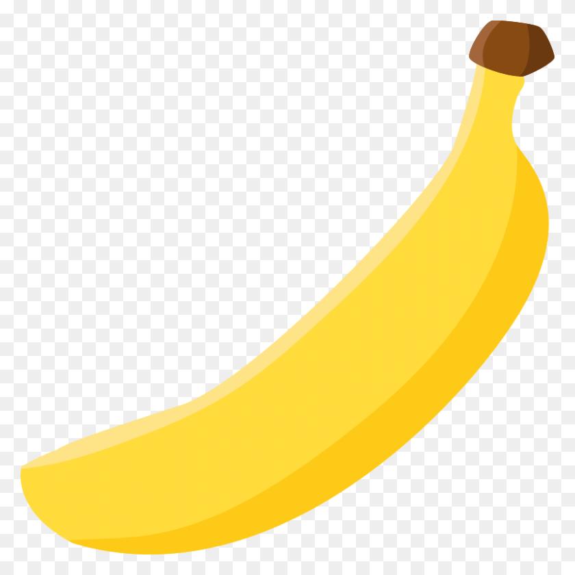 Banana Clip Art Images Free - No Food Clipart