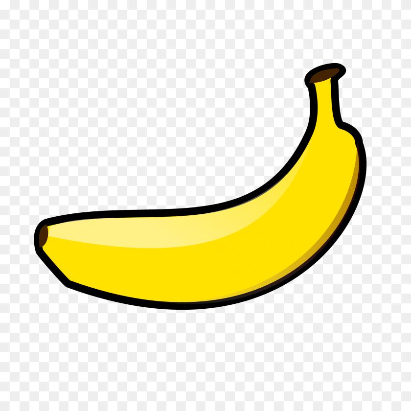 Banana Clipart Black And Educationplay Clip Art, Banana - Peeled Banana Clipart