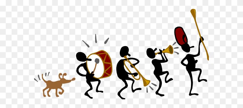 Band Group Cliparts - Marching Baritone Clipart