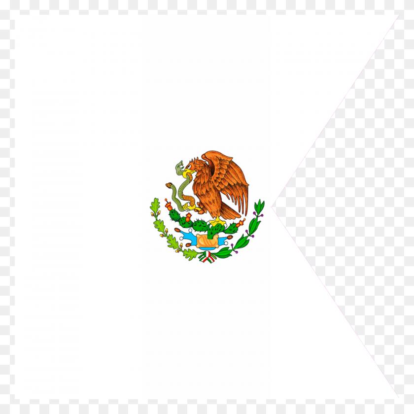 Bandera De Generales Y Del Mexico - Bandera De Mexico PNG