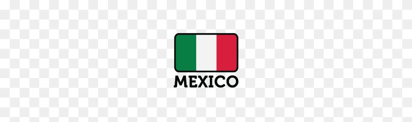 190x190 Bandera Nacional De Por Custom Tshirts Spreadshirt - Bandera Mexico PNG