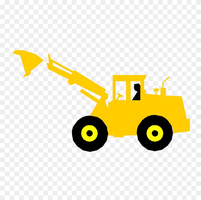 Banksman Cartoon Excavator Clip Art - Free Excavator Clipart