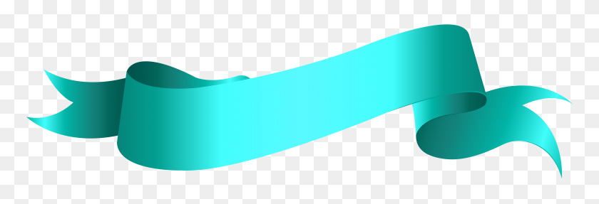 8000x2333 Banner Blue Png Clip Art Transparent - Megaphone Clipart