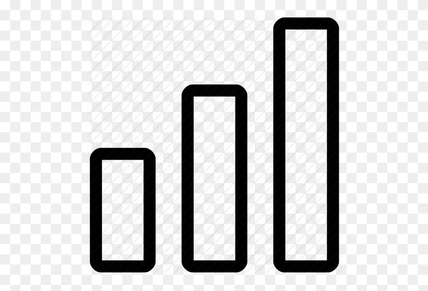 Bar, Bar Graph, Bars, Data, Levels, Trend, Trending Icon - Black Bars PNG
