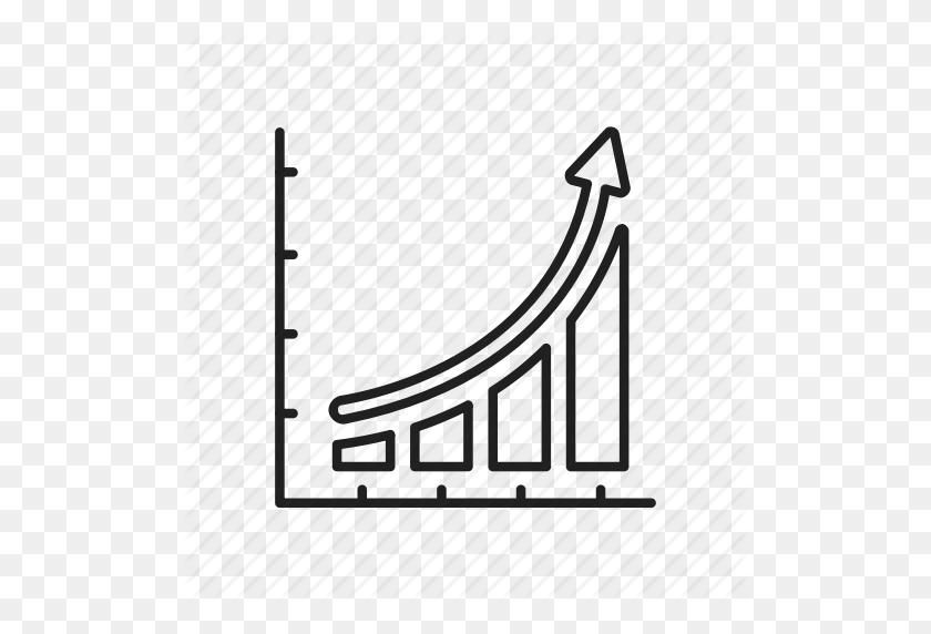 Bar Chart, Bar Graph, Exponential Trend, Growth, Line Graph, Mixex - Exponential Growth Clipart