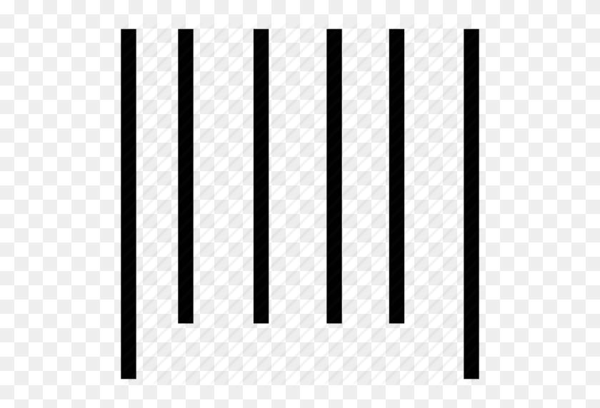Bar Code Lines, Bars, Equalizer, Lines, Sound Bars Icon - Black Bars PNG