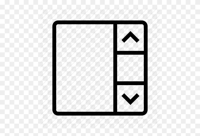 Bar, Scroll Icon - Scroll Bar PNG