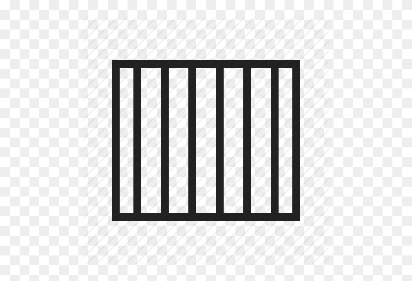 Bars, Cell, Criminal, Jail, Prison, Shadows Icon - Jail Cell PNG