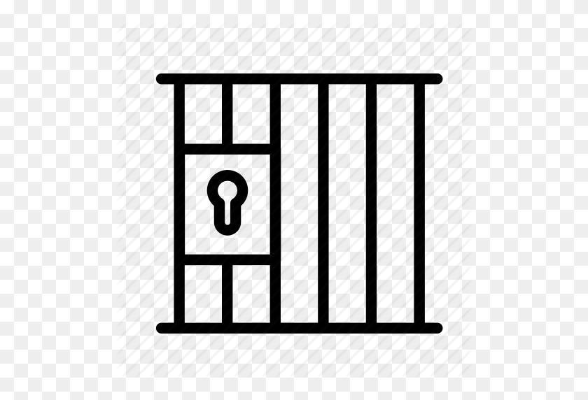 Bars, Crime, Door, Law, Prison, Prison Cell Icon - Prison Bars PNG