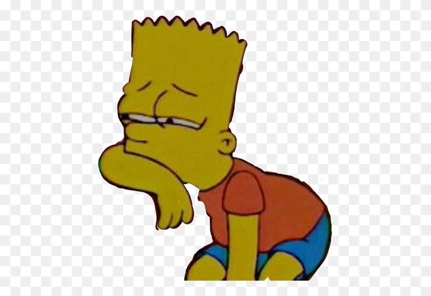 457x518 Bartsimpsom Sadboy Sadboys Sad Sadness Thesimpsons Tris - Sad Boy Clipart