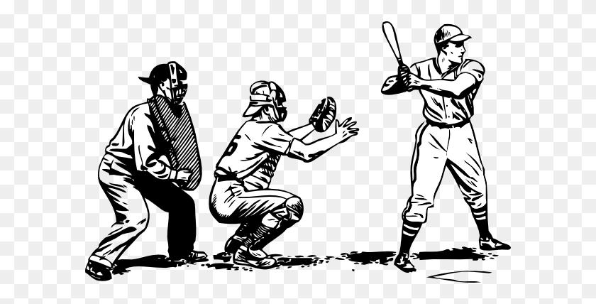Baseball At Bat Clip Art - Umpire Clipart