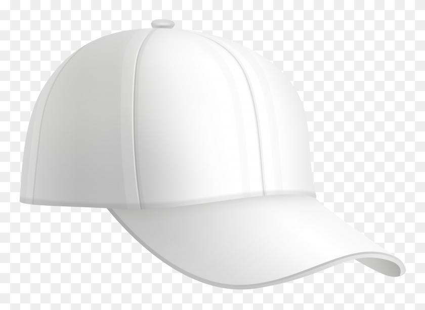 Baseball Cap White Png Clip Art - White Hat PNG