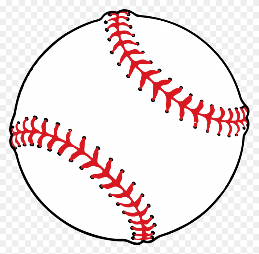 800x784 Baseball Clip Art Download - Cotton Ball Clipart