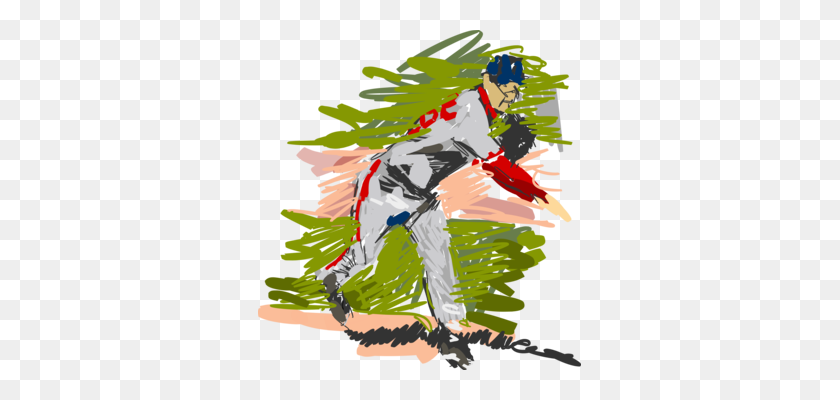 Baseball Field Sport Baseball Bats Baseball Uniform Free - Baseball Field Clipart