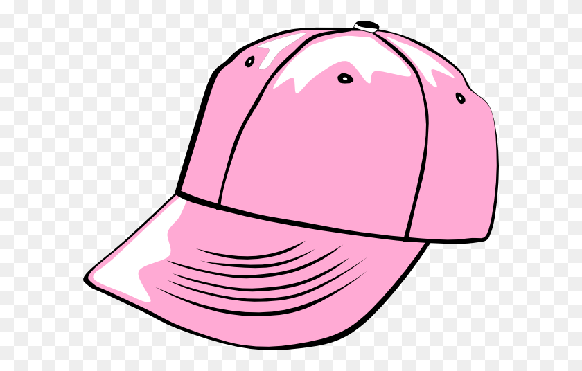 Baseball Cap Black Clip Art - Baseball Hat Clipart Black And