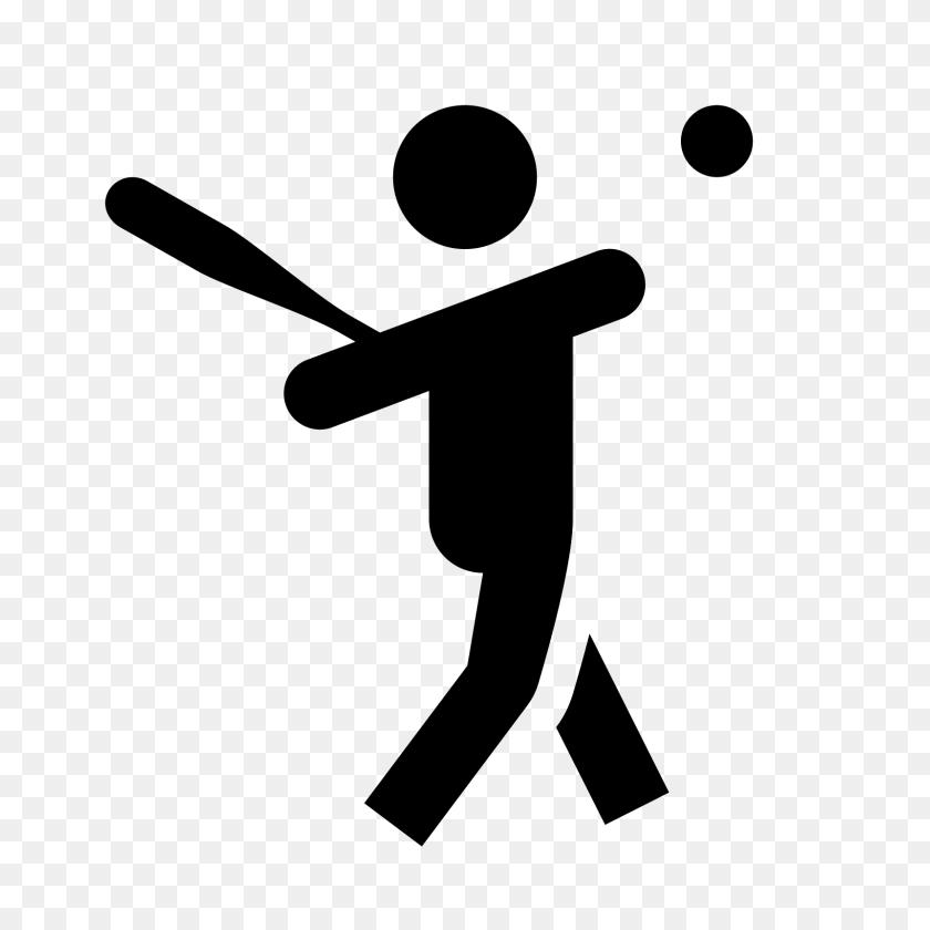 Baseball Player Icon - PNG Baseball