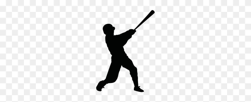 283x283 Baseball Silhouettes Silhouettes Of Baseball - Baseball PNG