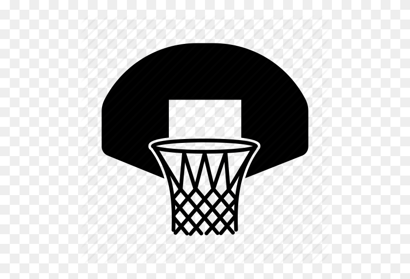 Basket, Basketball, Basketball Hoop, Hoop, Nba, Players, Sport Icon - Basketball Hoop PNG