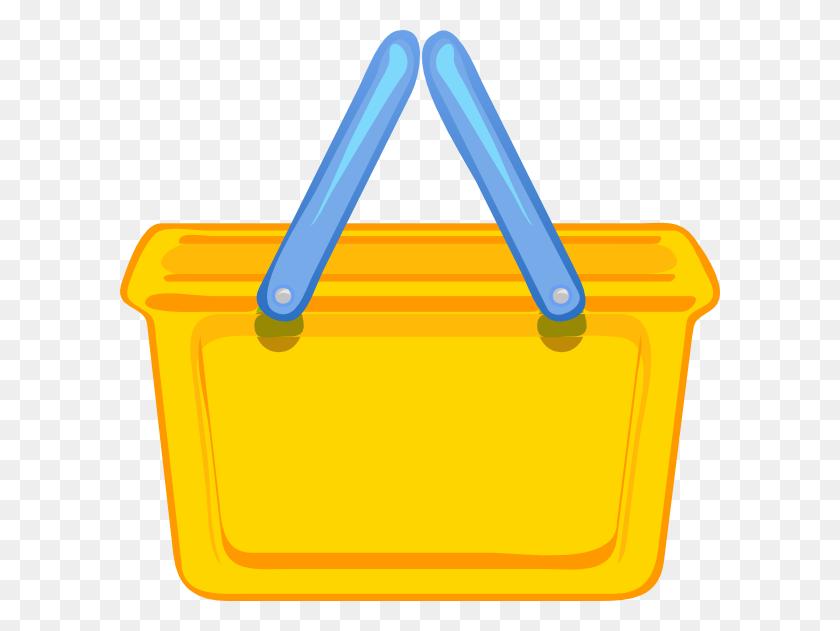 Basket Clipart Empty Bag - Empty Basket Clipart