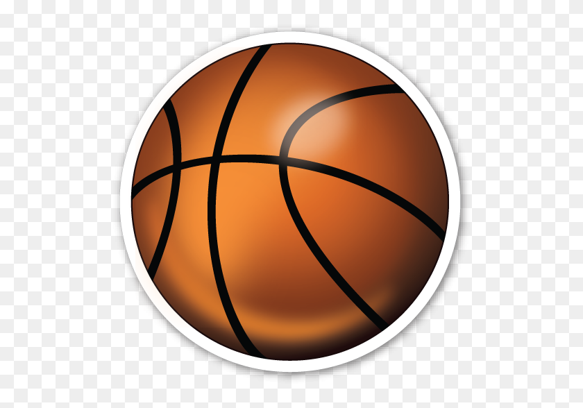 Basketball And Hoop Sports Football, Basketball, Etc - Basketball Emoji PNG