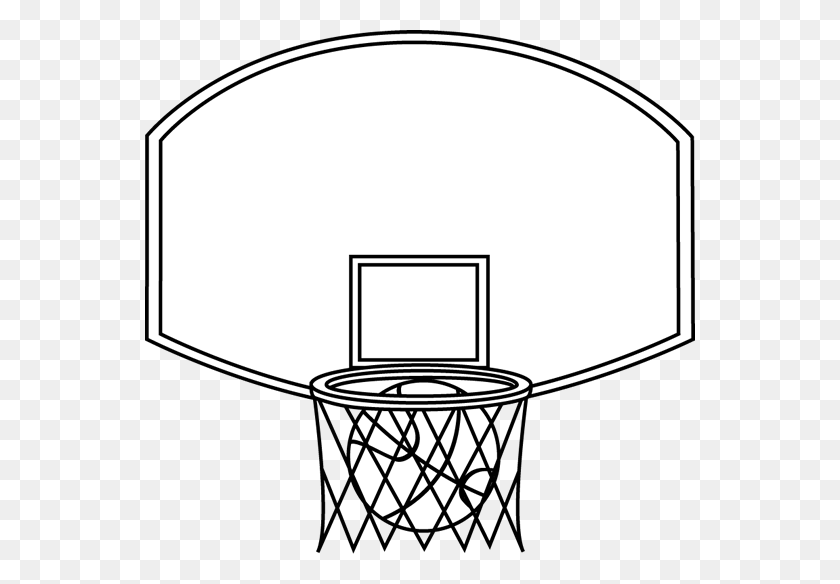 Basketball Hoop Clip Art Black And White | Clip art, Basketball hoop,  Basketball floor