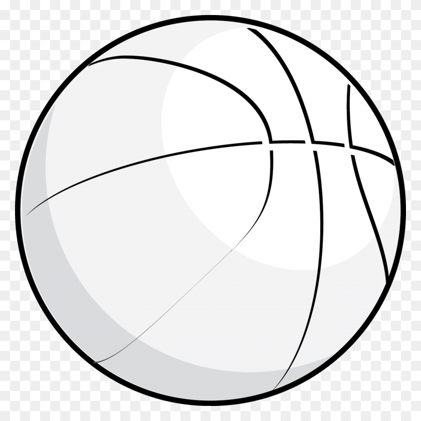 Basketball Clipart Black And White Png - Basketball Ball PNG