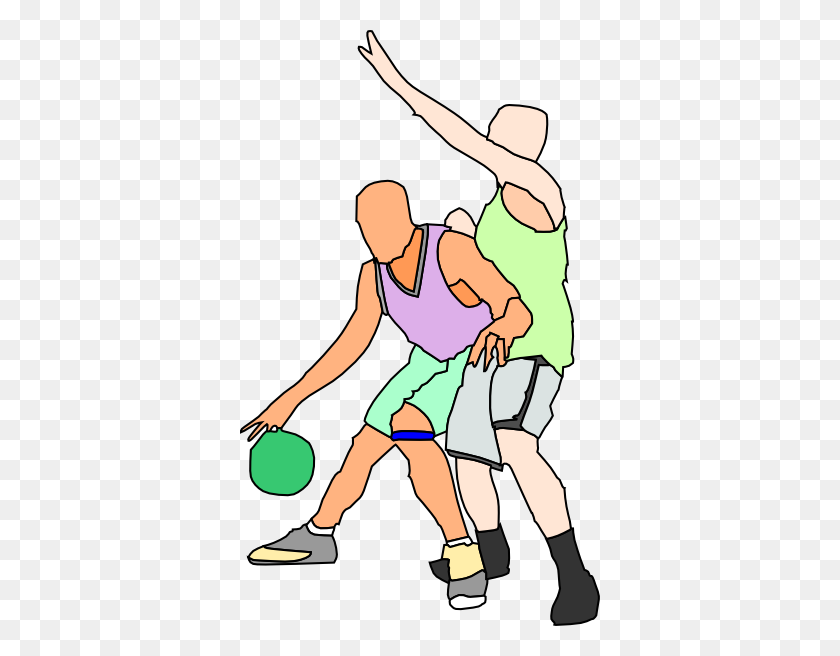 Basketball Court Clipart - Basketball And Net Clipart