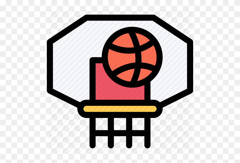 Basketball Fitness Clipart, Explore Pictures - Basketball And Hoop Clipart