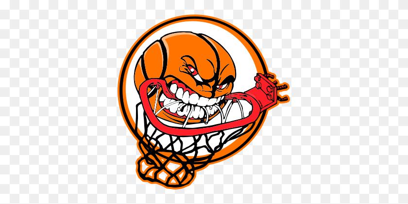 Basketball Hoop Clipart - Basketball And Hoop Clipart