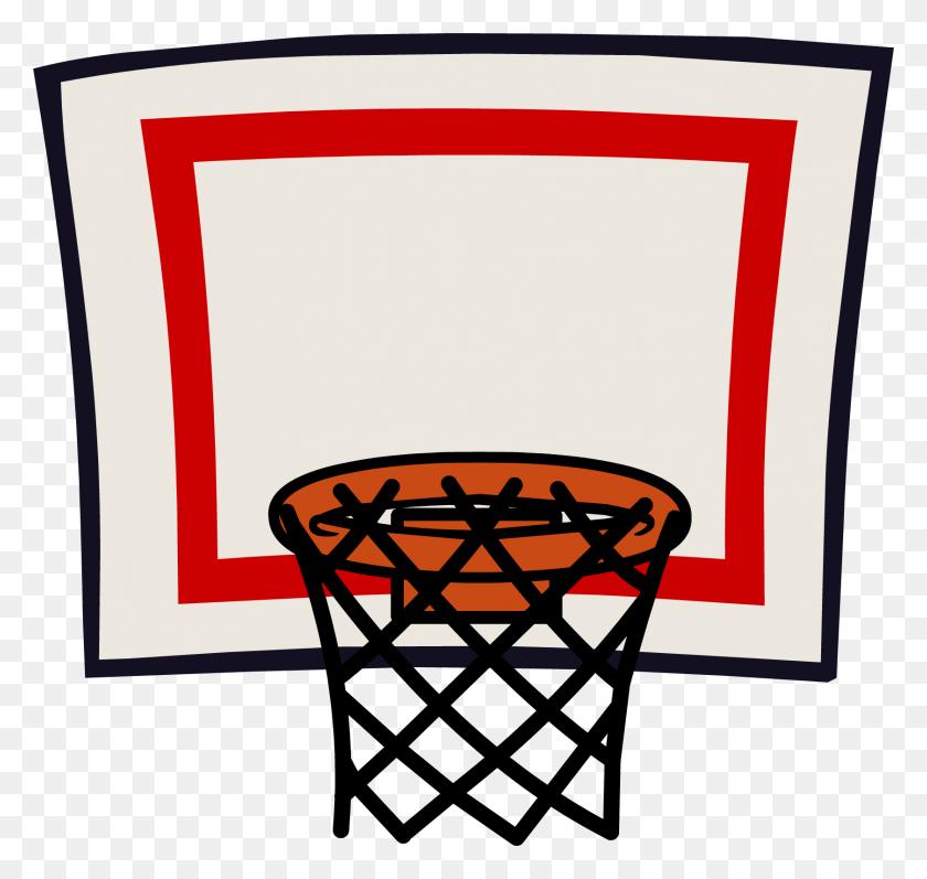 Basketball Hoop Clipart Sport - Basketball And Hoop Clipart