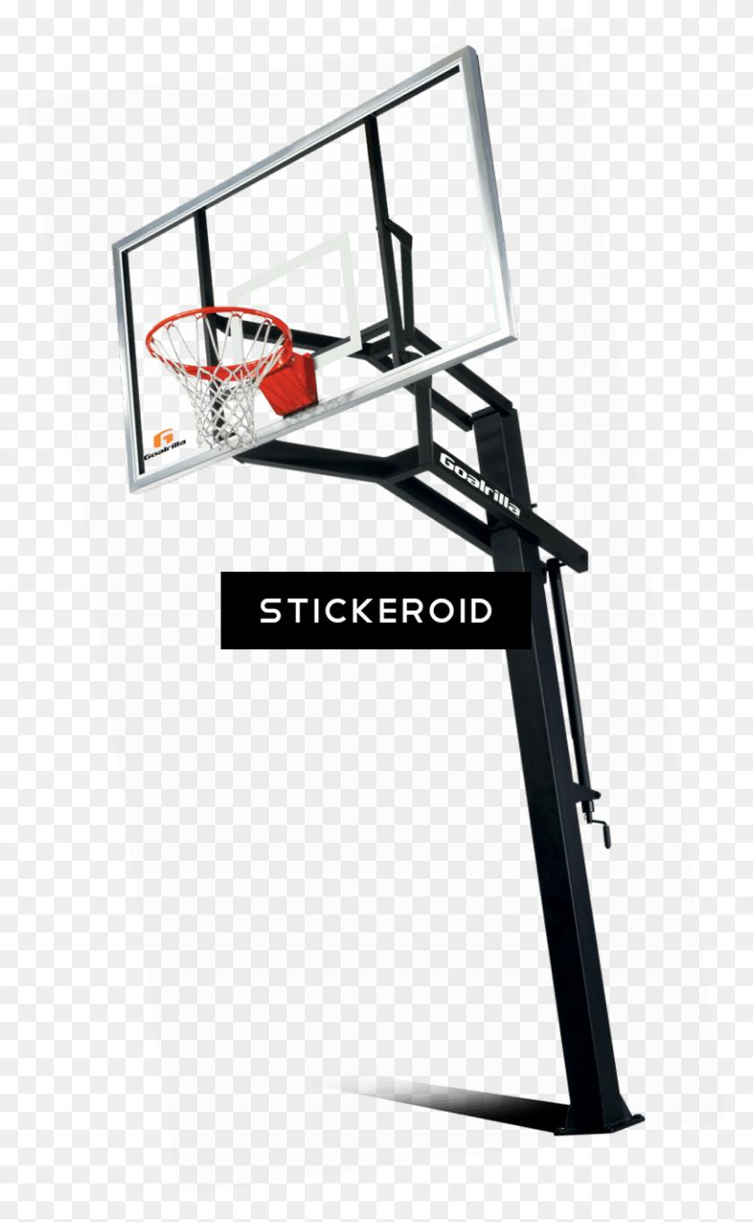Basketball Hoop Stand - Basketball Hoop PNG