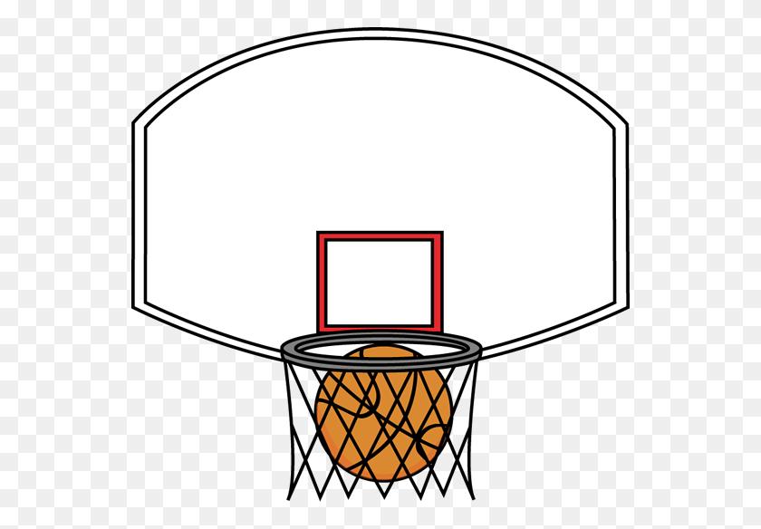 Basketball Net Clip Art - Basketball Clipart Transparent