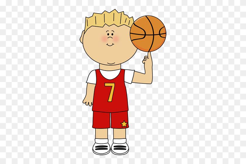 Basketball Player Balancing Ball On Finger Clip Art - Playing Basketball Clipart