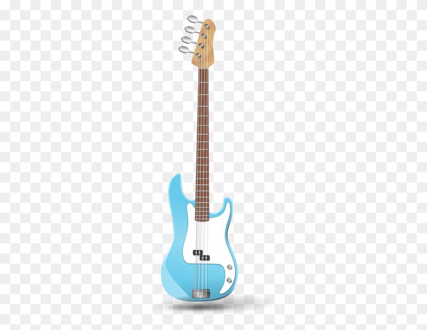 Bass Guitar Clip Art - Playing Guitar Clipart